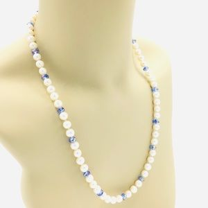 """Authentic 20 1/2"""" Pearl Necklace NWT"""